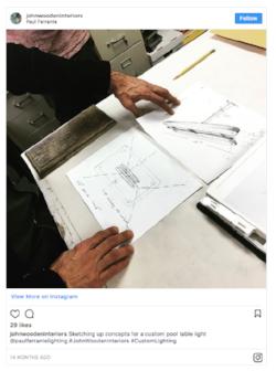 Instagram post by  John Wooden Interiors .