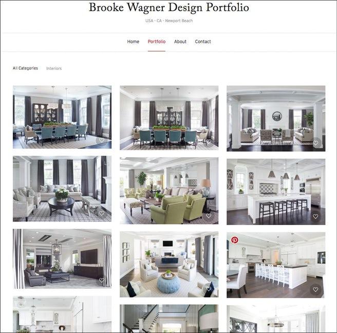 Interior Design Portfolio of  Brooke Wagner