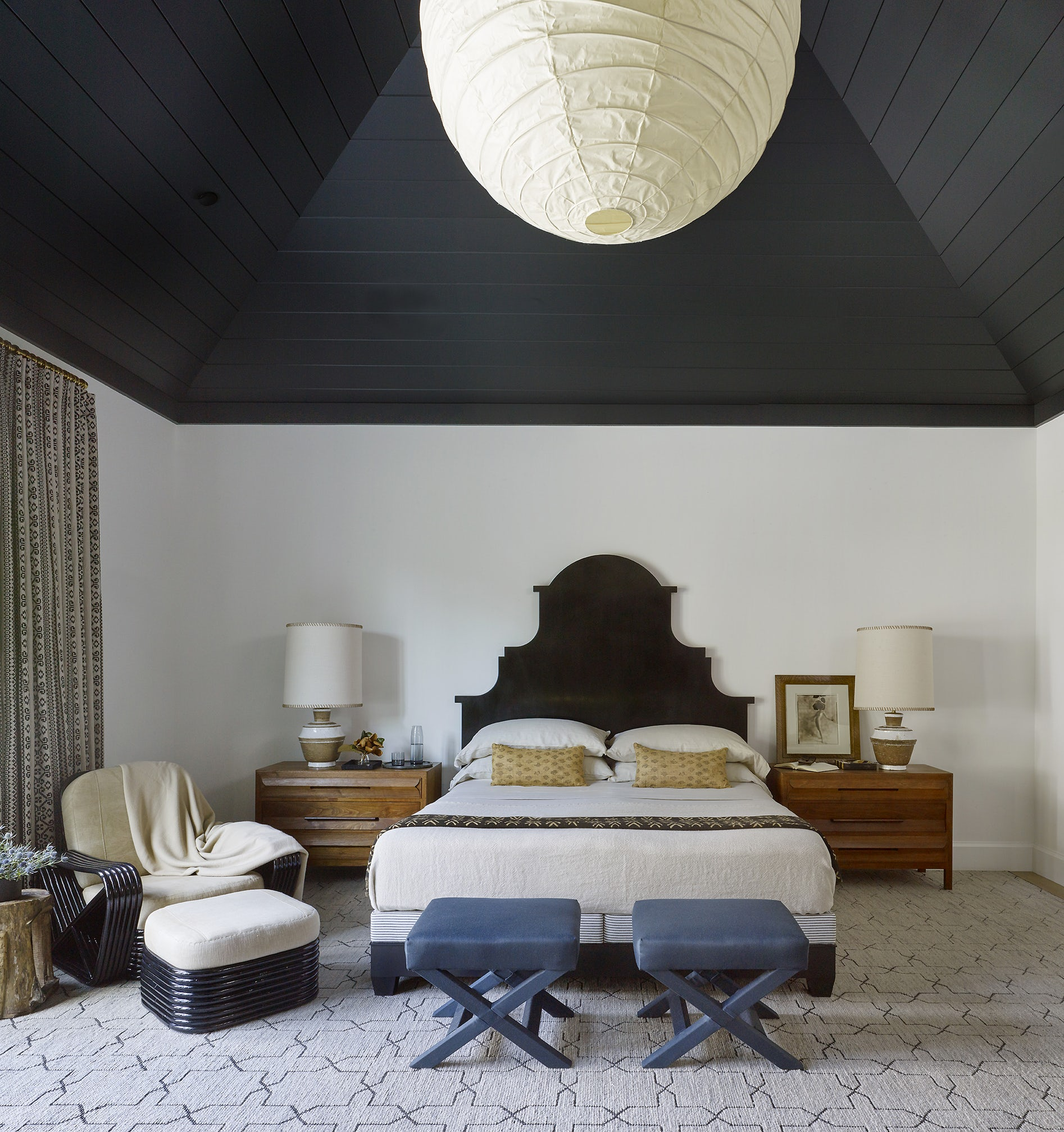Pacific Palisades Master Bedroom Designed by Dan Scotti