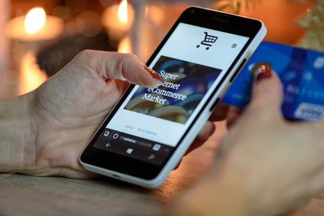 Online purchases, like the one pictured above, are becoming common at higher price points.
