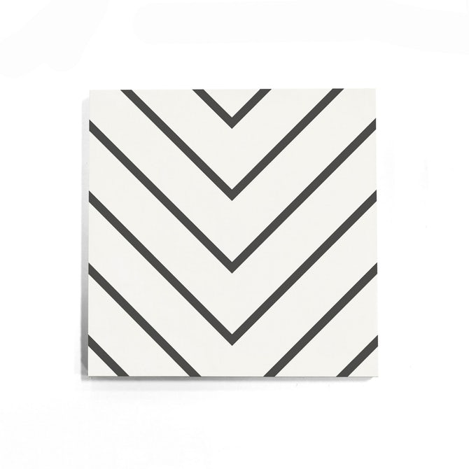 Zenith Concrete Cement Tile in White from Cle Tile has a list price of $6.00.