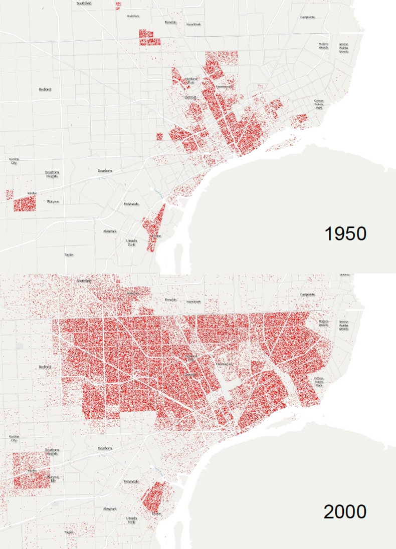 Racial Shift — THE OTHER AMERICA on detroit crime map, detroit state map, detroit race demographics, detroit racial map, detroit geographic map, san francisco census tract map, detroit community map, detroit population 1980 to 2010, detroit race map, detroit transportation map, city of baltimore maryland map, downtown detroit area attractions map, bad areas of detroit map, kansas city ethnic map, detroit history map, detroit city limits, detroit city map, detroit racial demographics, detroit satellite map, detroit address map,