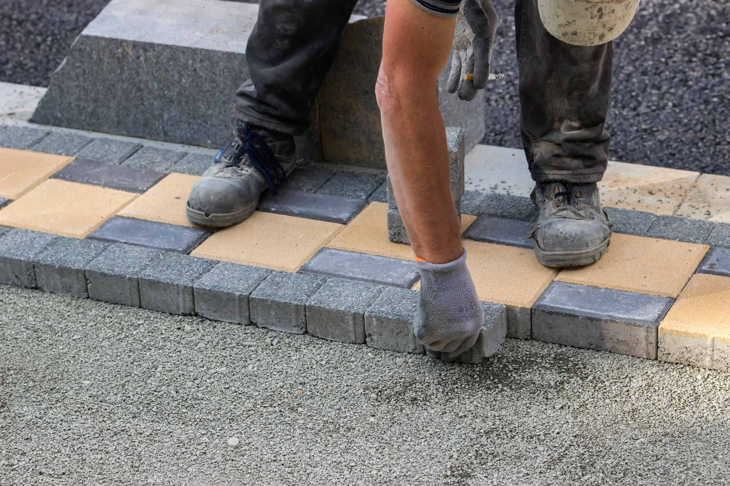 Installing Pavers in the Winter in California
