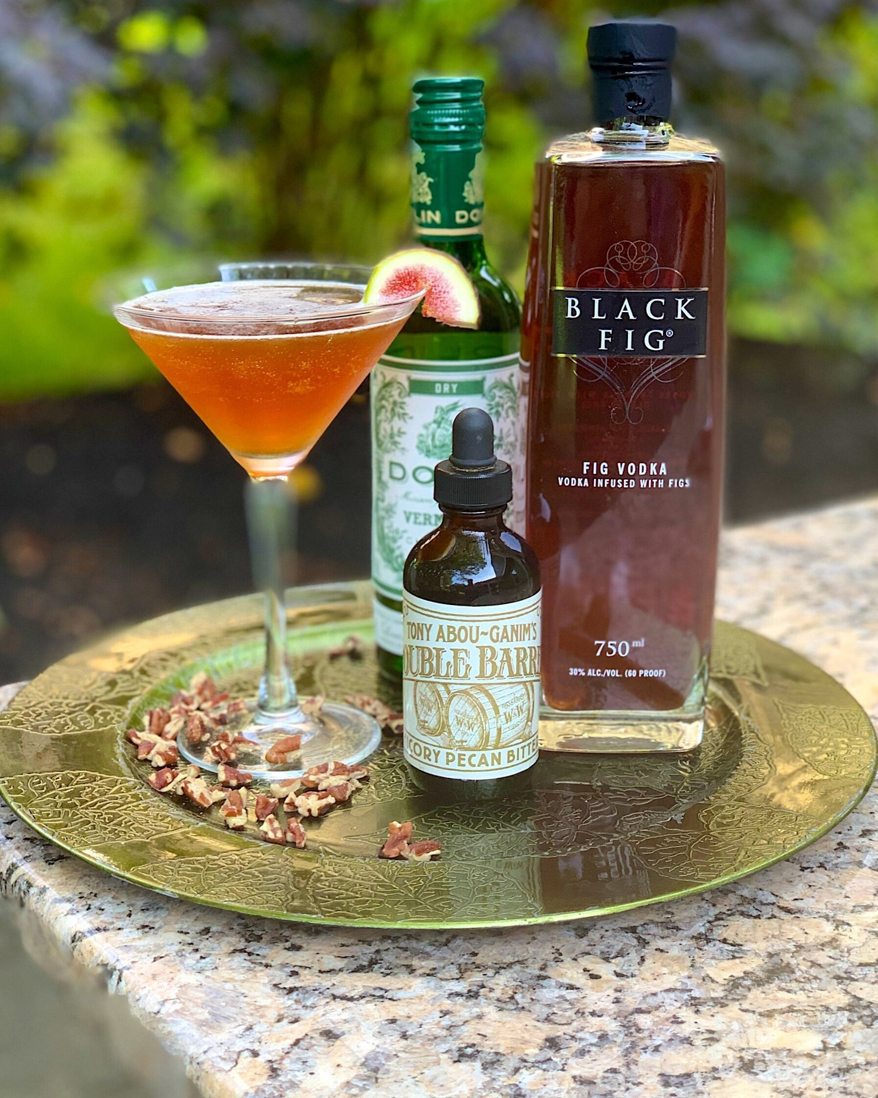 The Nutty Fig Martini