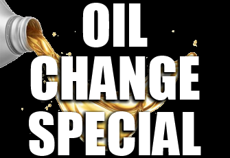 Ask About Our $12.95 OIL CHANGE - You bring the oil and filter and we will do the dirty work for you, for only $12.95.