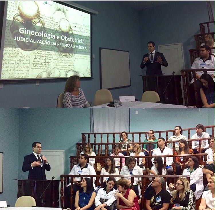 palestra -  Jornada Científica de Tocoginecologia do Maternidade Escola Januário Cicco - MEJC  - anfiteatro do MEJC – 10 e 11 de novembro de 201