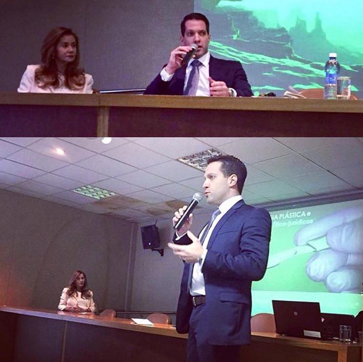 A Cirurgia Plástica e aspectos Ético-jurídicos  palestra -  I Simpósio de Cirurgia Plástica do Rio Grande do Norte  - Auditório do CCS HUOL - 24 de setembro de 2016