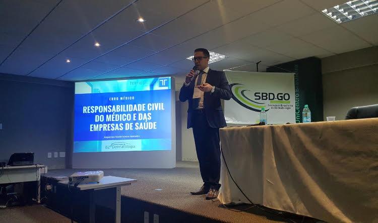 Responsabilidade Civil do Médico - aspectos históricos e conceitos  Palestra -  82ª JORNADA GOIANA DE DERMATOLOGIA , realizada nos dias 15 e 16 de junho de 2018, realizado em Goiânia- GO