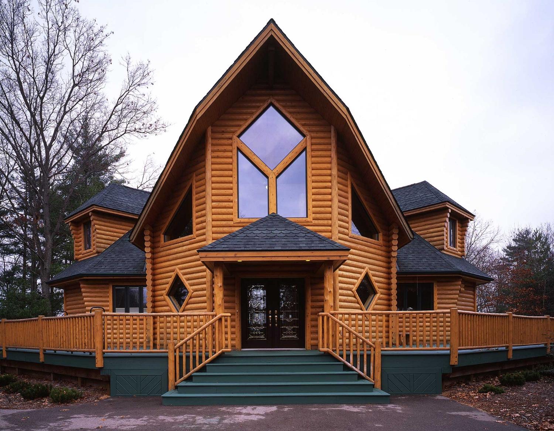 Custom Built Log Homes