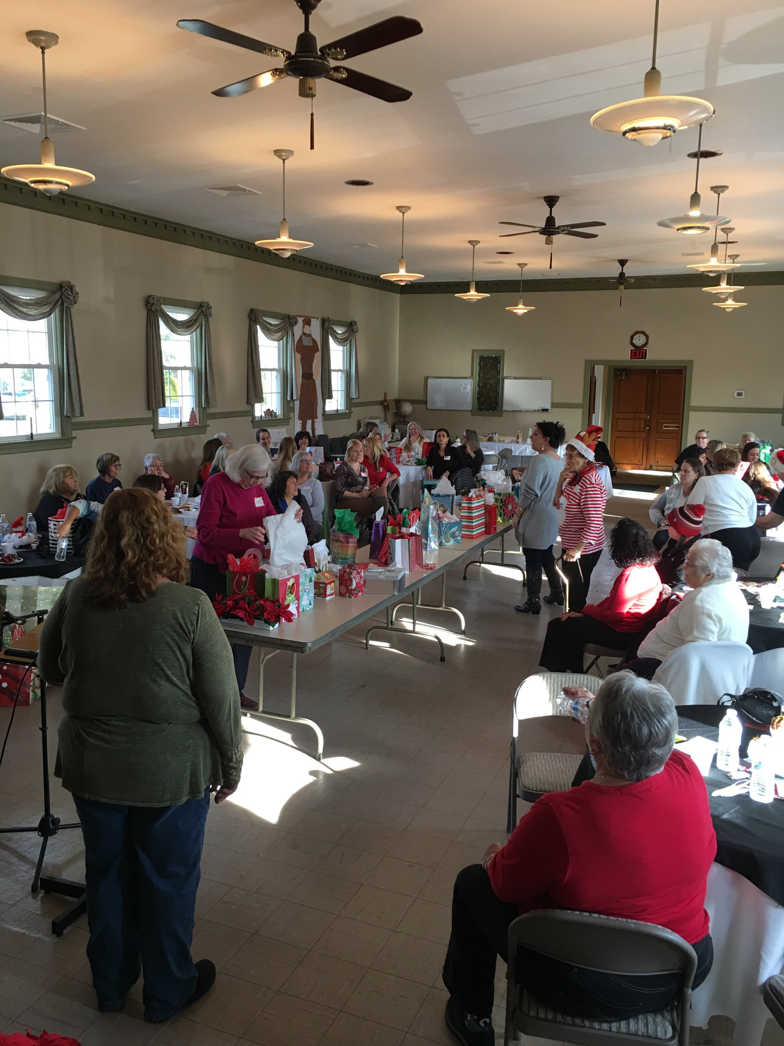 WOMEN'S CHRISTMAS PARTY - 2017