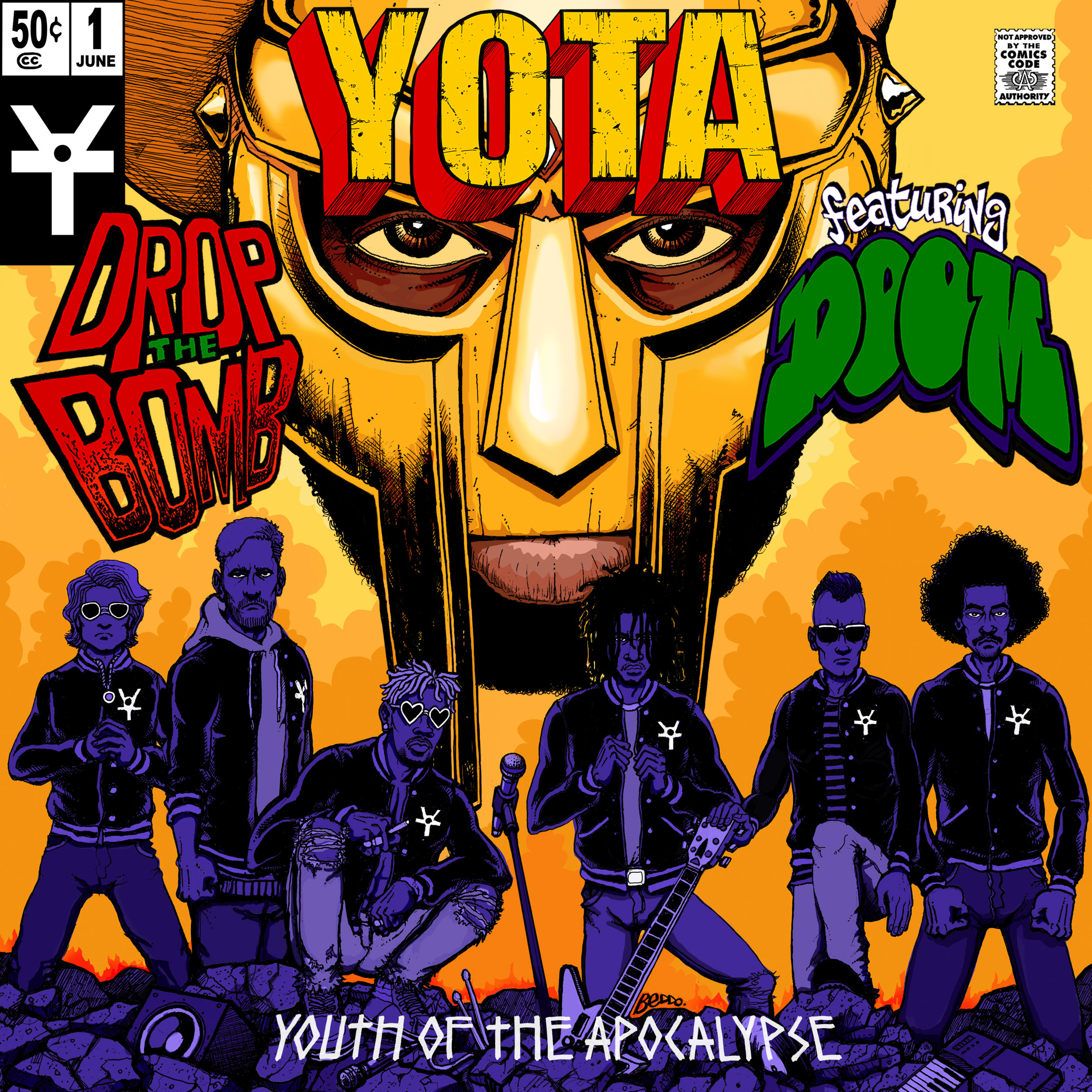 Drop The Bomb (single) - YOTA: Youth of the apocalypse