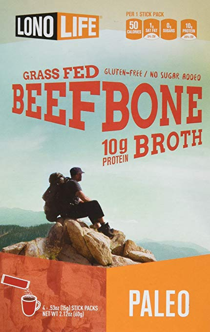 Lono Life Grass Fed Bone Broth 10g Protein