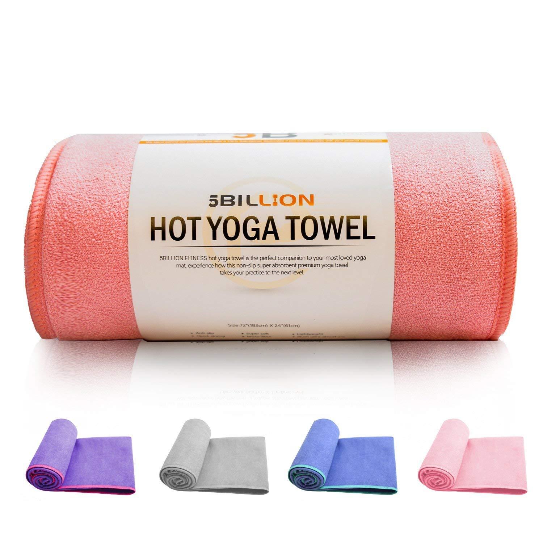 5BILLION Yoga Towel Yoga Mat Towel Microfiber Towel
