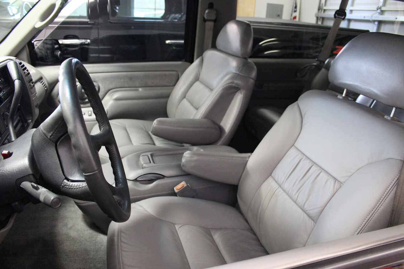 1996 GMC Yukon 2 Door Classic Interior Restoration - New Leather Seating