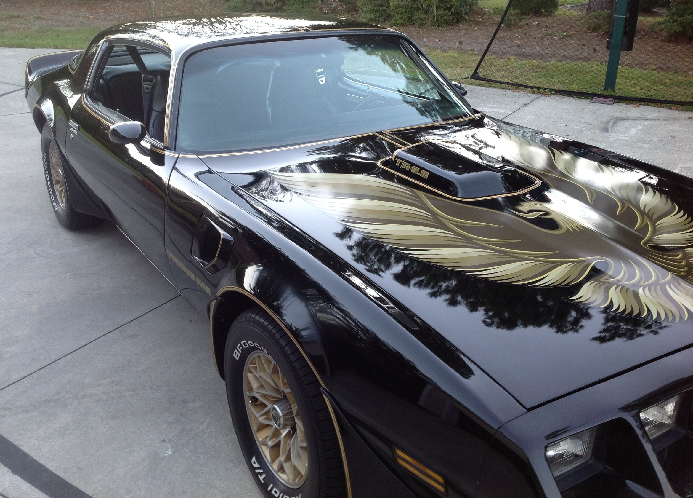 1979 Pontiac Trans Am with The Pontiac 400 - One of the first Classic Cars we restored - All original parts