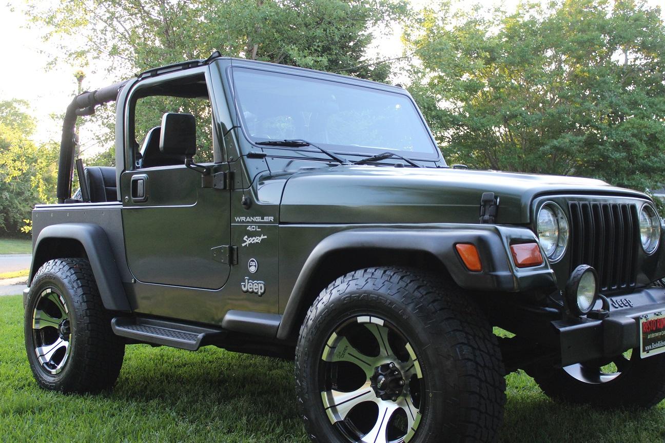 1998 Jeep Wrangler 4.0L 6cyl