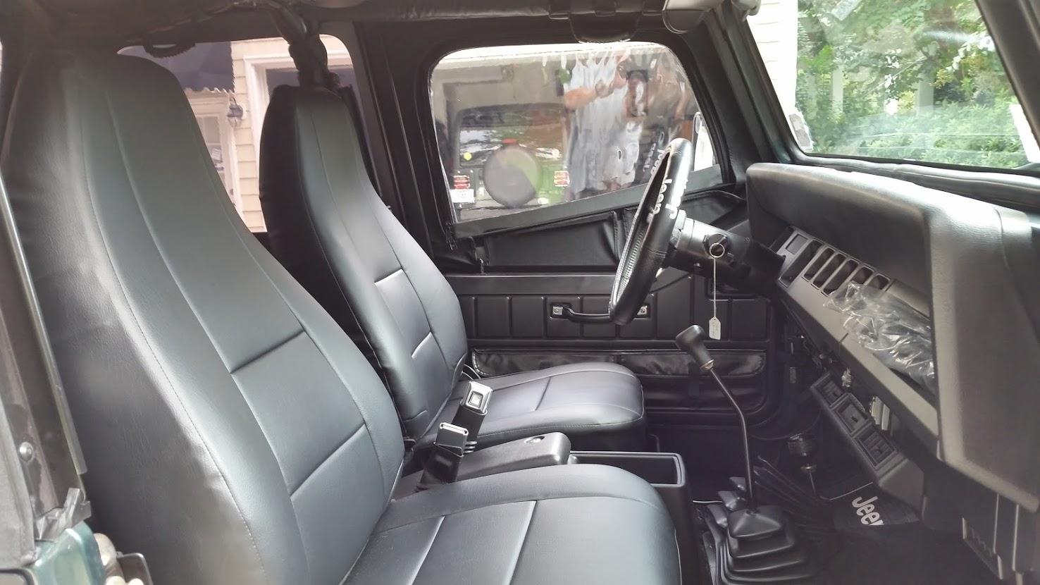 1994 Jeep Wrangler YJ Interior Restoration