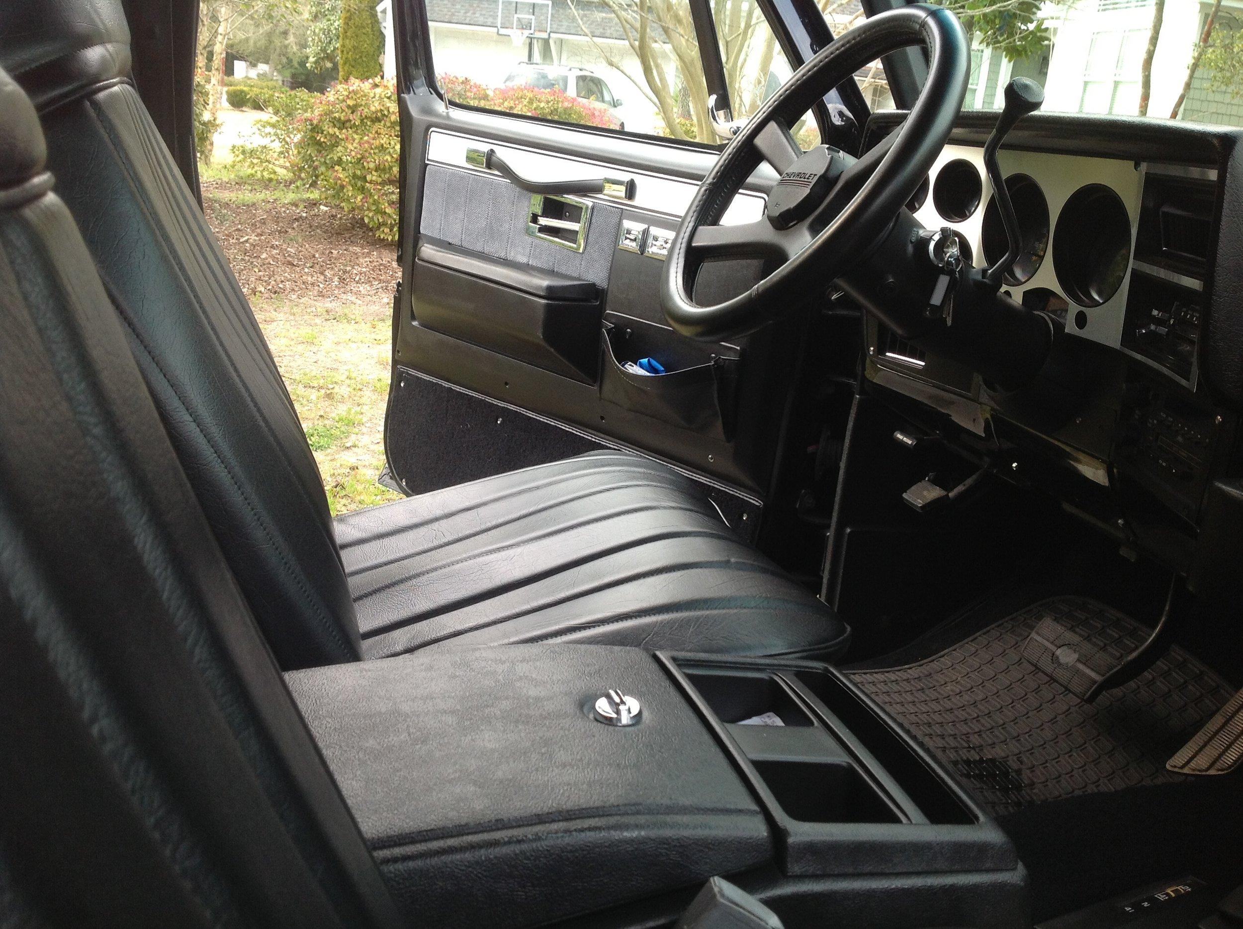 1989 K5 Blazer Interior Restoration