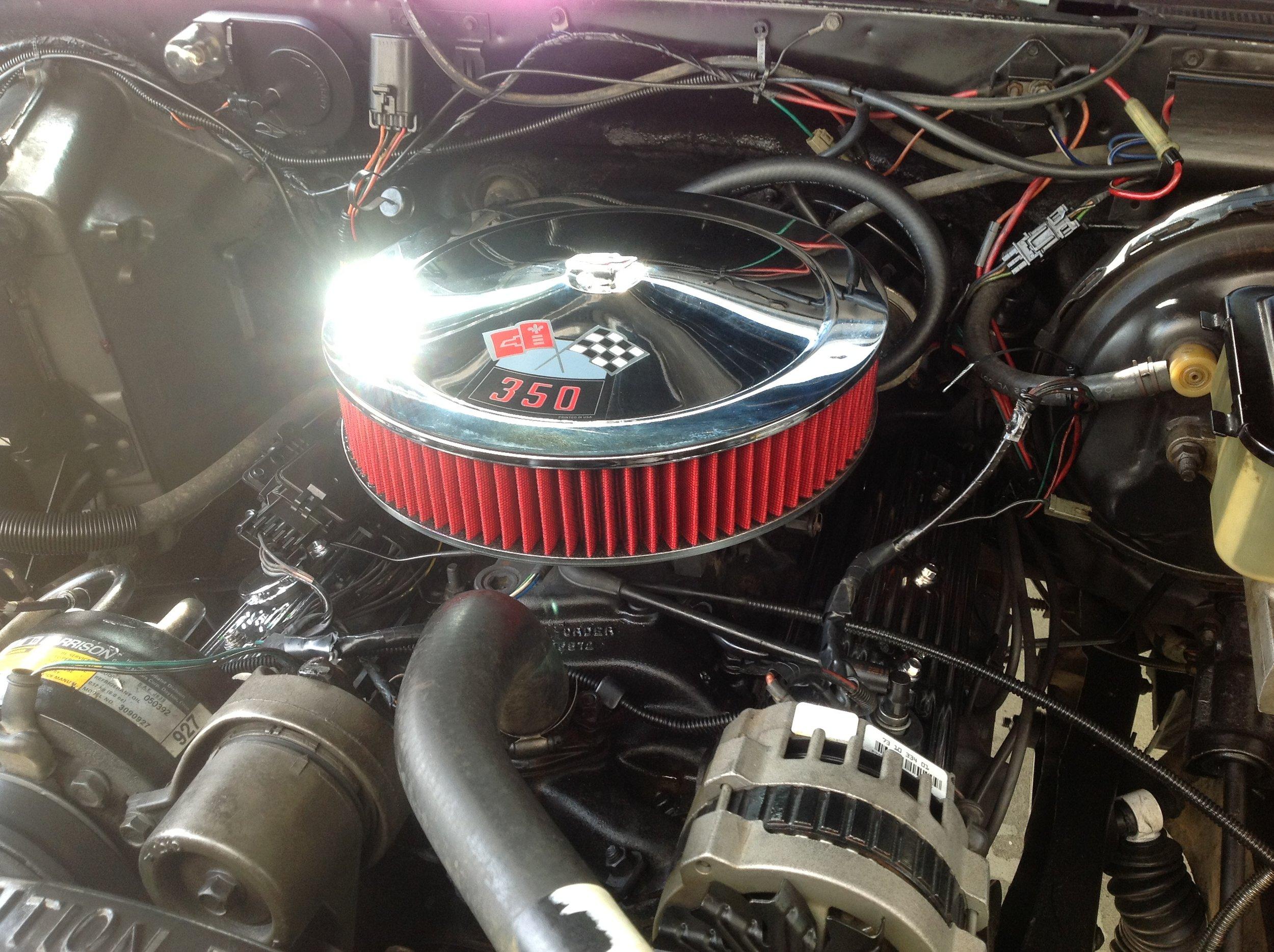 1989 K5 Blazer Engine Upgraded