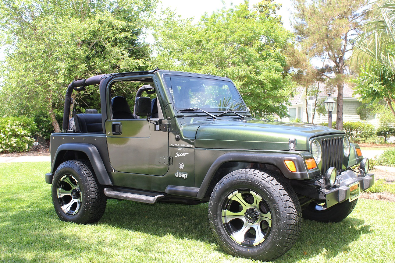 1997 Jeep Wrangler TJ 4.0L 6cyl - This Jeep Wrangler sold in less than 10 minutes after posting for sale