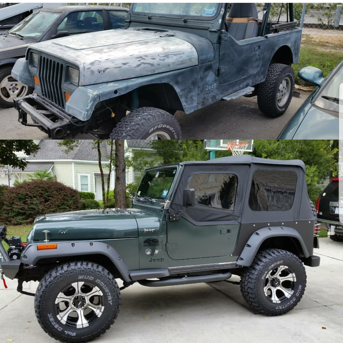1994 Jeep YJ Restoration