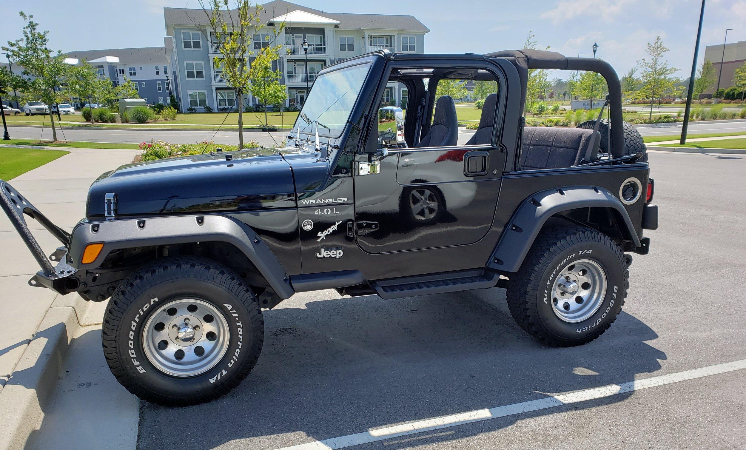 01 Jeep Wrangler Restored
