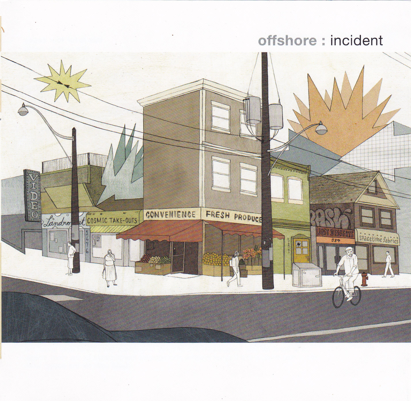 offshore-incident - Offshore is a band that was collectively started by Martin Wolfaart (piano) , Paul Gibbings (bass) and myself. I can say that it was the beginning of my journey as a drummer that would end up playing more jazz and improvised music. This is a really great album recorded by Peter Auret at Sumo Sound in Joburg. Marcus Wyatt (trumpet) and Buddy Wells (sax) make up a very above average horn section. Jonathan Crossley (guitar) makes a guest appearance as well.