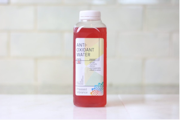 Anti-Oxidant Water - For an afternoon pick me up. I love how the flavor is subtle in this but the hydration is strong.