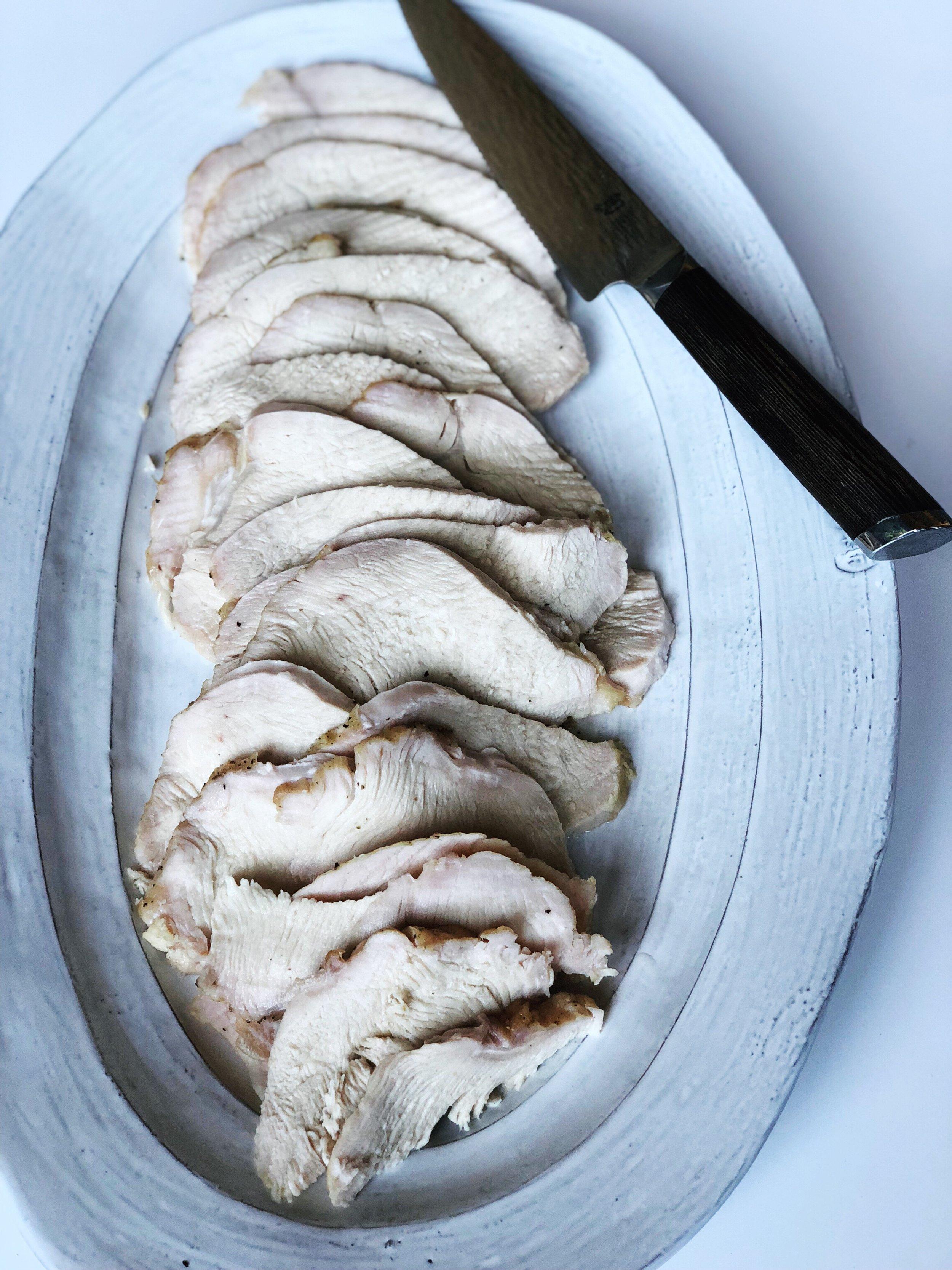 almonds and asana roasted turkey.JPG