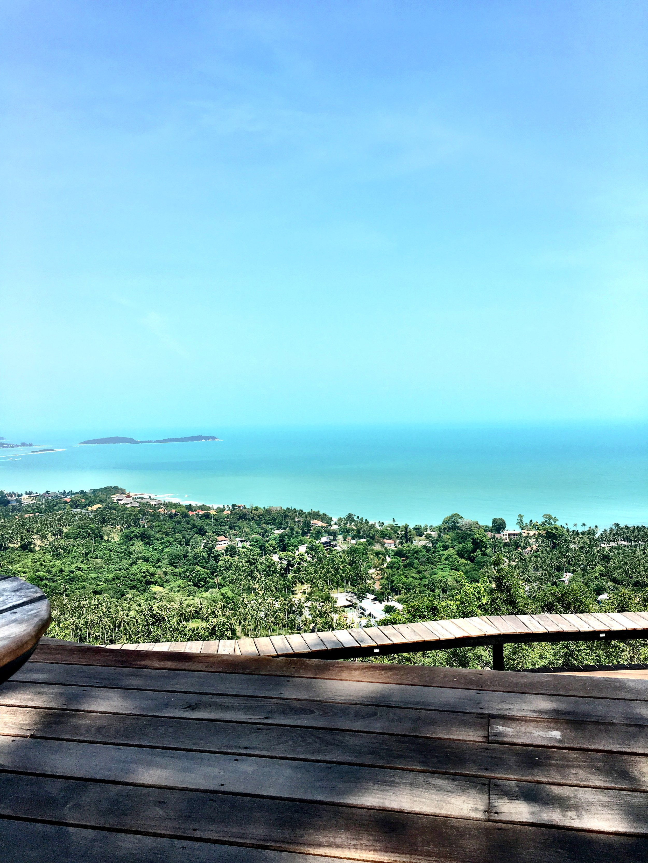 thailand koh samui jungle club ocean view