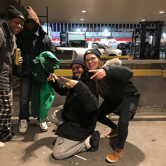 Got to hang with these dudes and give them some extra warmth last weekend❤️ #helpthehomeless #WGYC #nychomeless  #newyorkcity #humansofny #thehomies