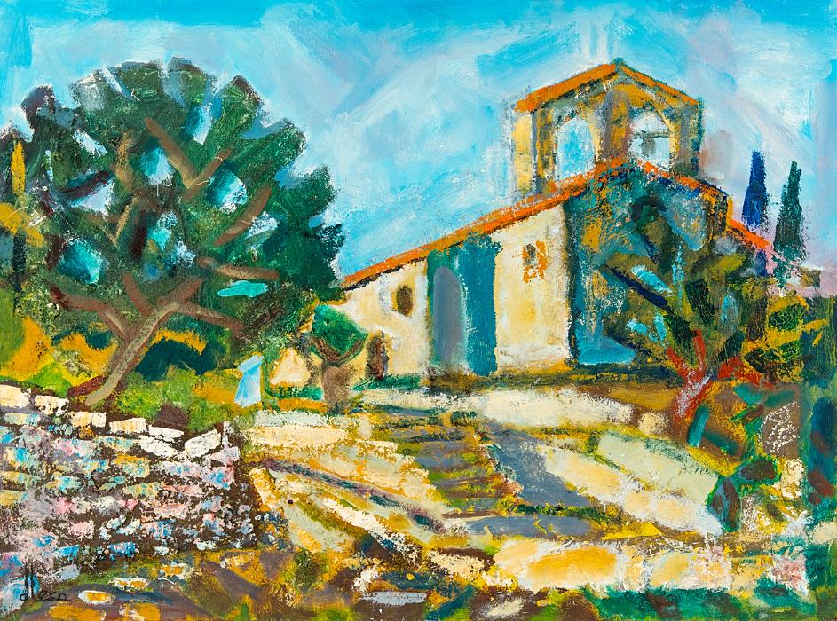 Chapelle a Villecroze, Var