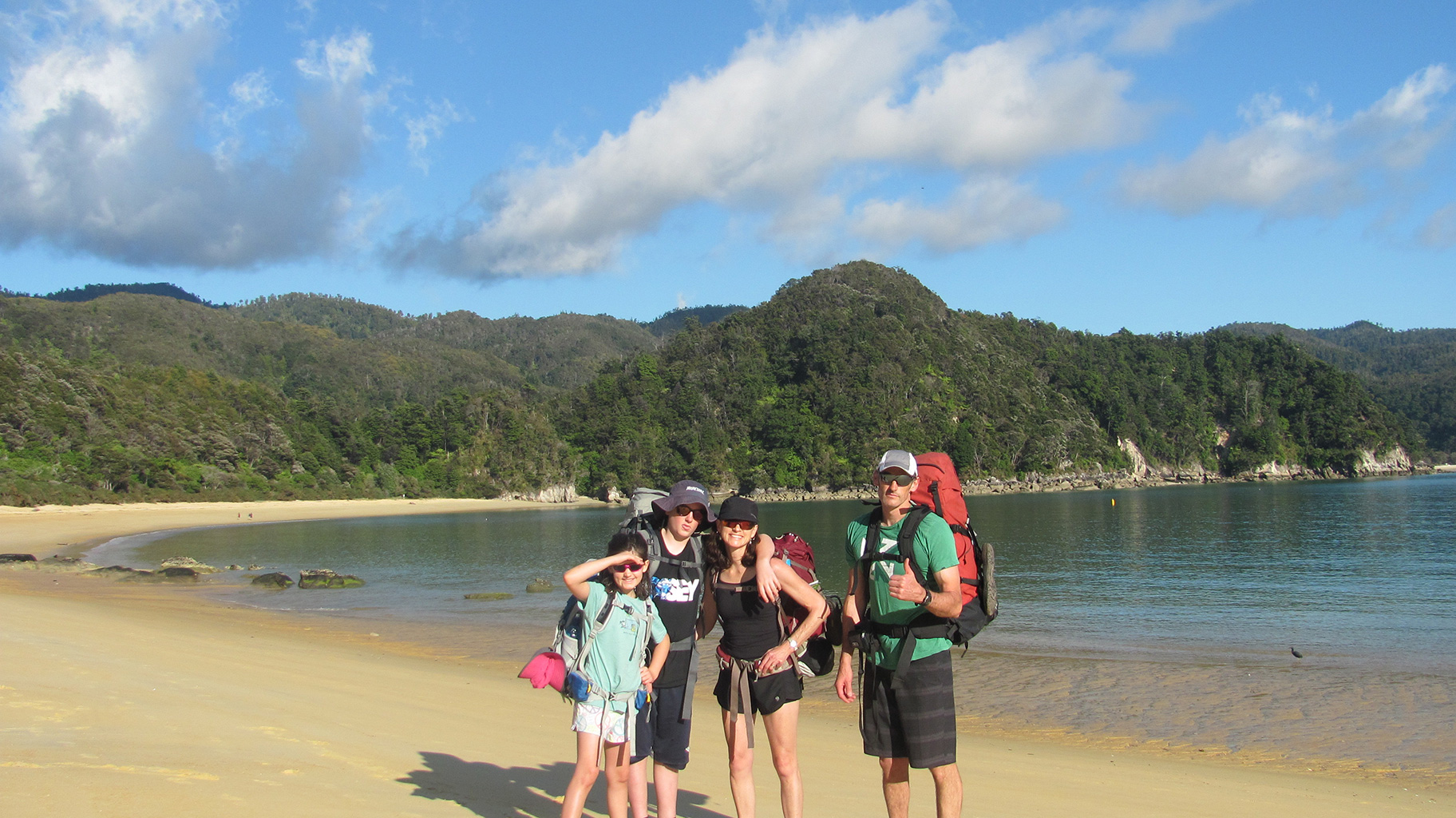 Tramping in the Abel Tasman National Park