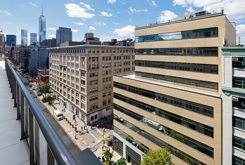 Aerial Shot of 325 Hudson's Building
