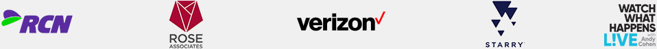 Network Providers (RCN, Rose Associates, Verizon, Starry, Watch What Happens Live)