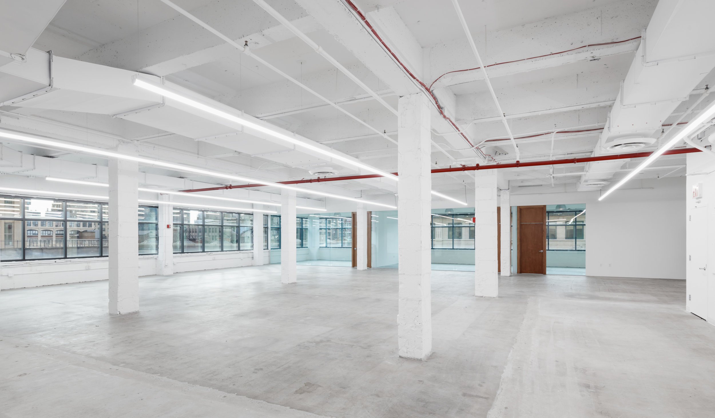 Raw Vacant Office Space