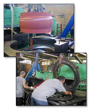 Large Rubber Moldings