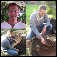 My Oluwo in Los Angeles is Irawo Ifa Amos Dyson, Oluwo of Ifa Temple Otura Tukaa, Isese Yoruba Herbalist and Sustainable Gardening Specialist.