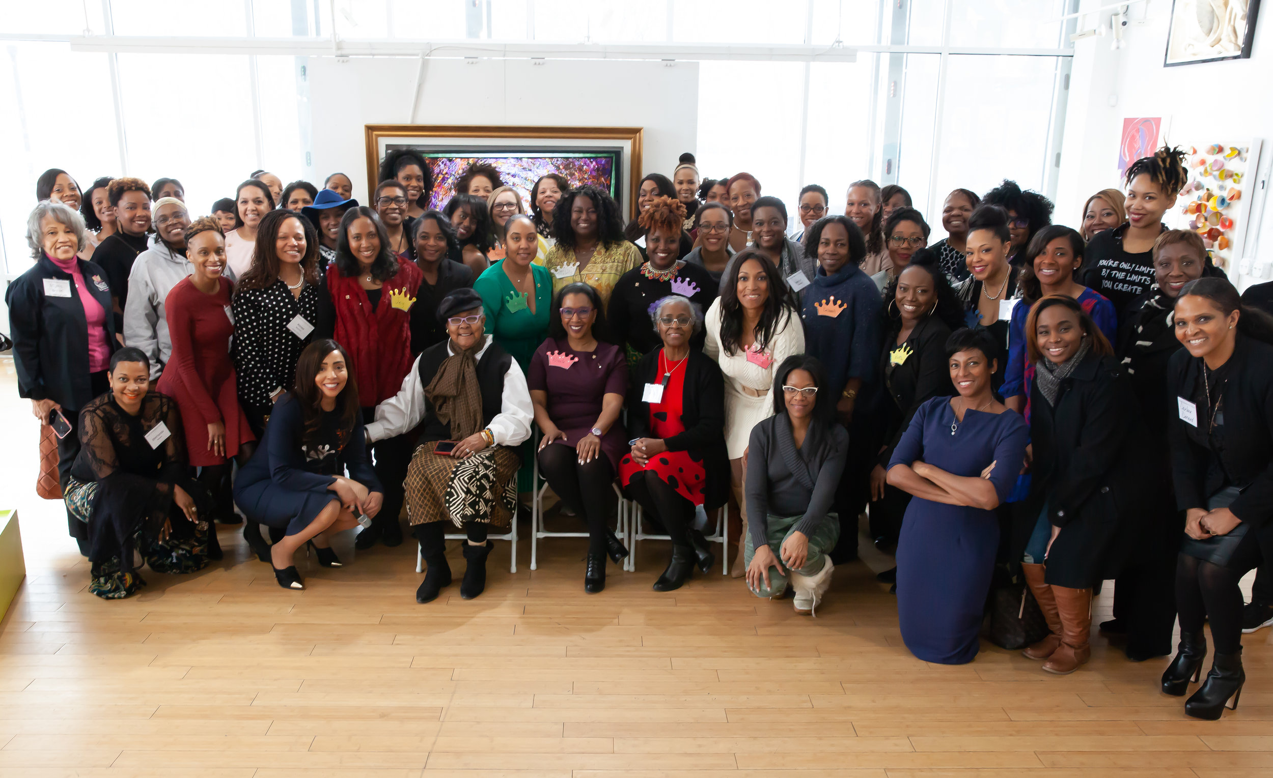 Queenmakers: 1st Annual Grantee Celebration Attendees and Grantees