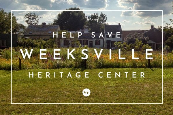 """Weeksvillle Heritage Center sent out a plea to """"Save Weeksville & Save Brooklyn's Black History""""."""