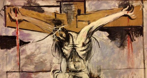 Attribution:  Graham Sutherland, The Crucifixion ( source )