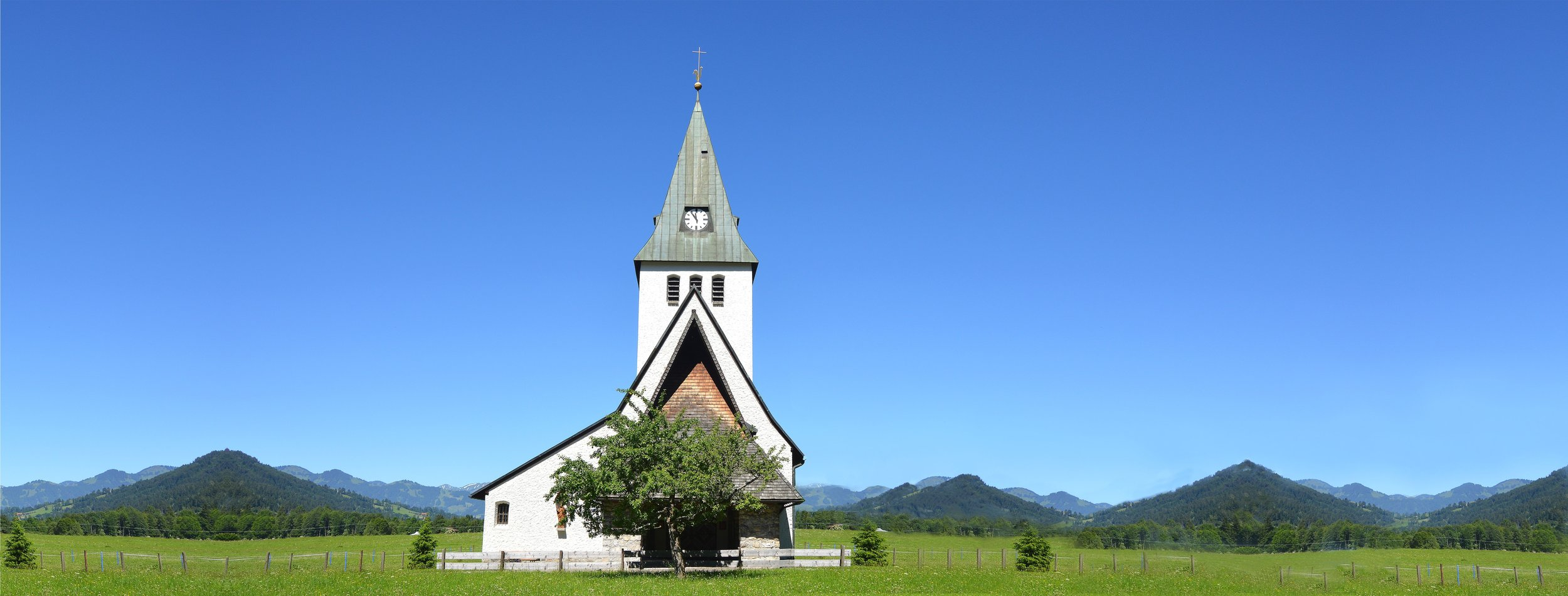 Country Church in Montana