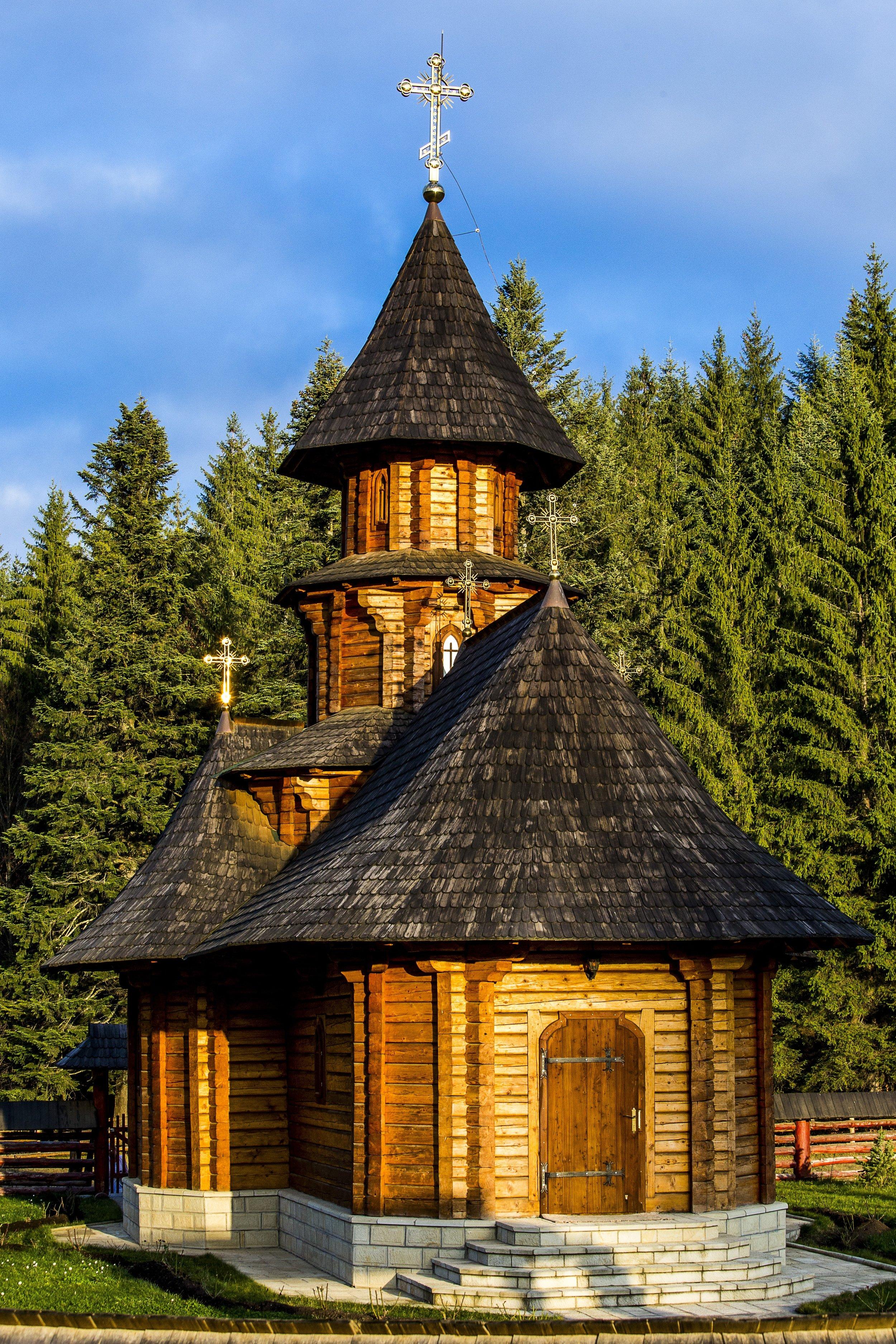 Scandinavian Chapel Wood