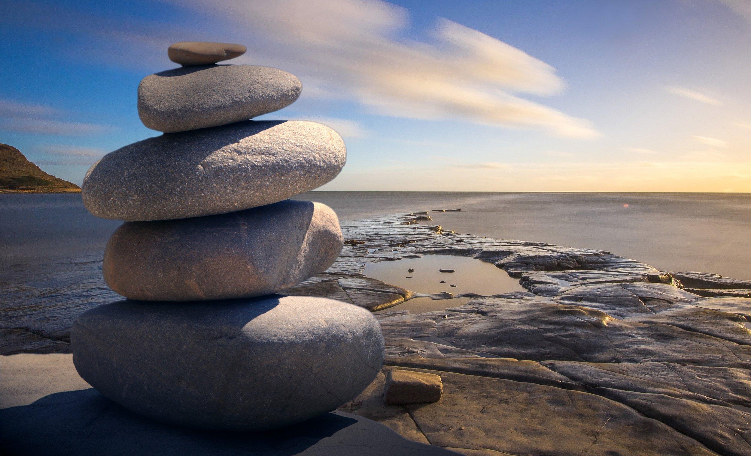 Devotion Rocks by Shore