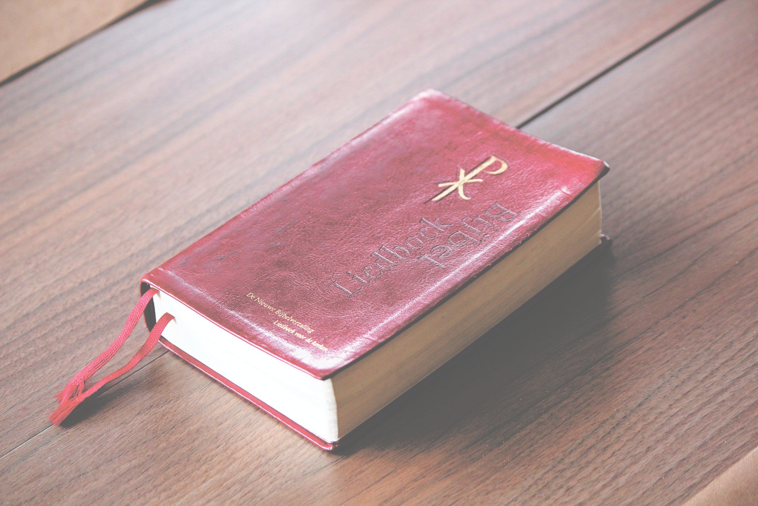 Old Red Bible