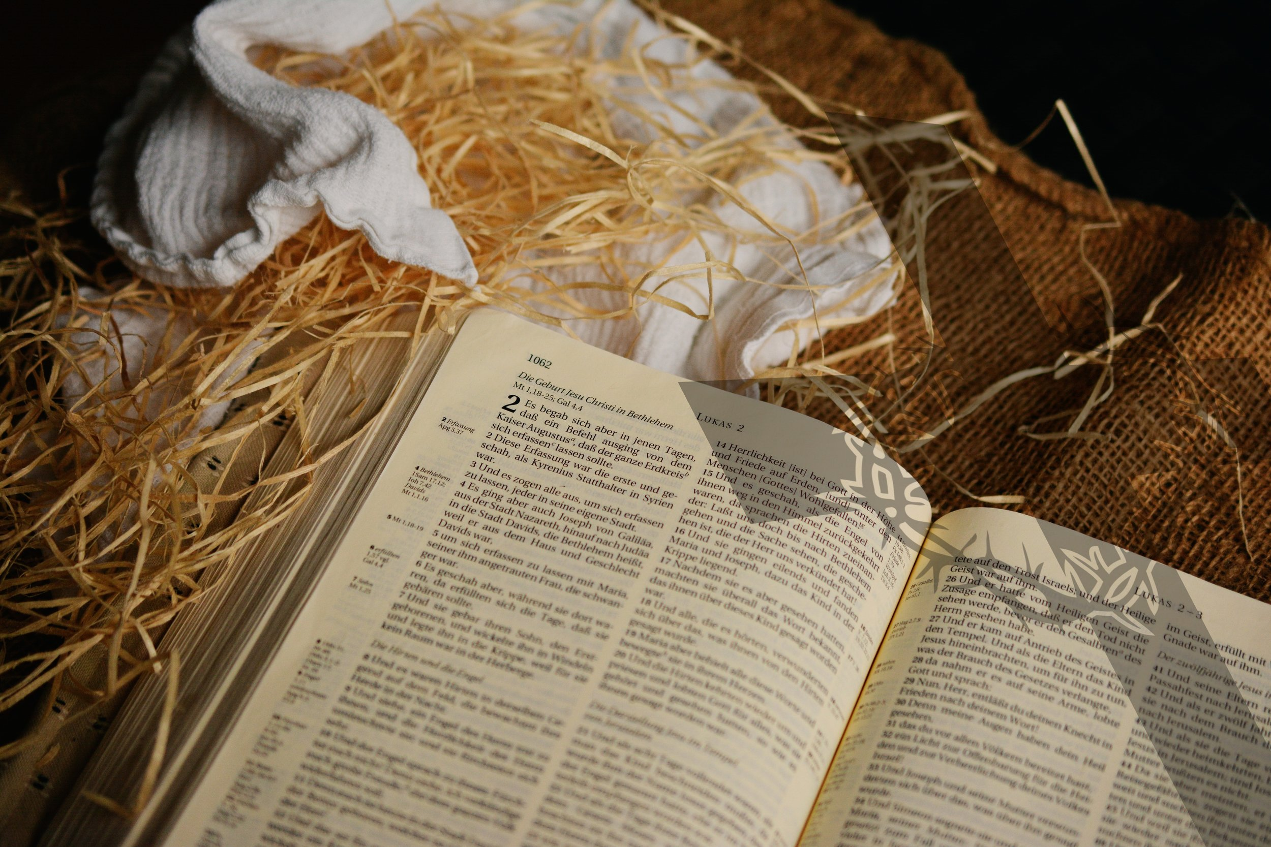 Scripture Set out in Barn
