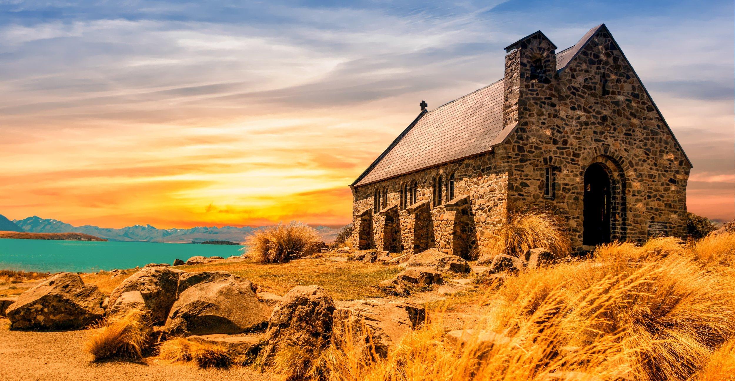 Gorgeous Stone Church