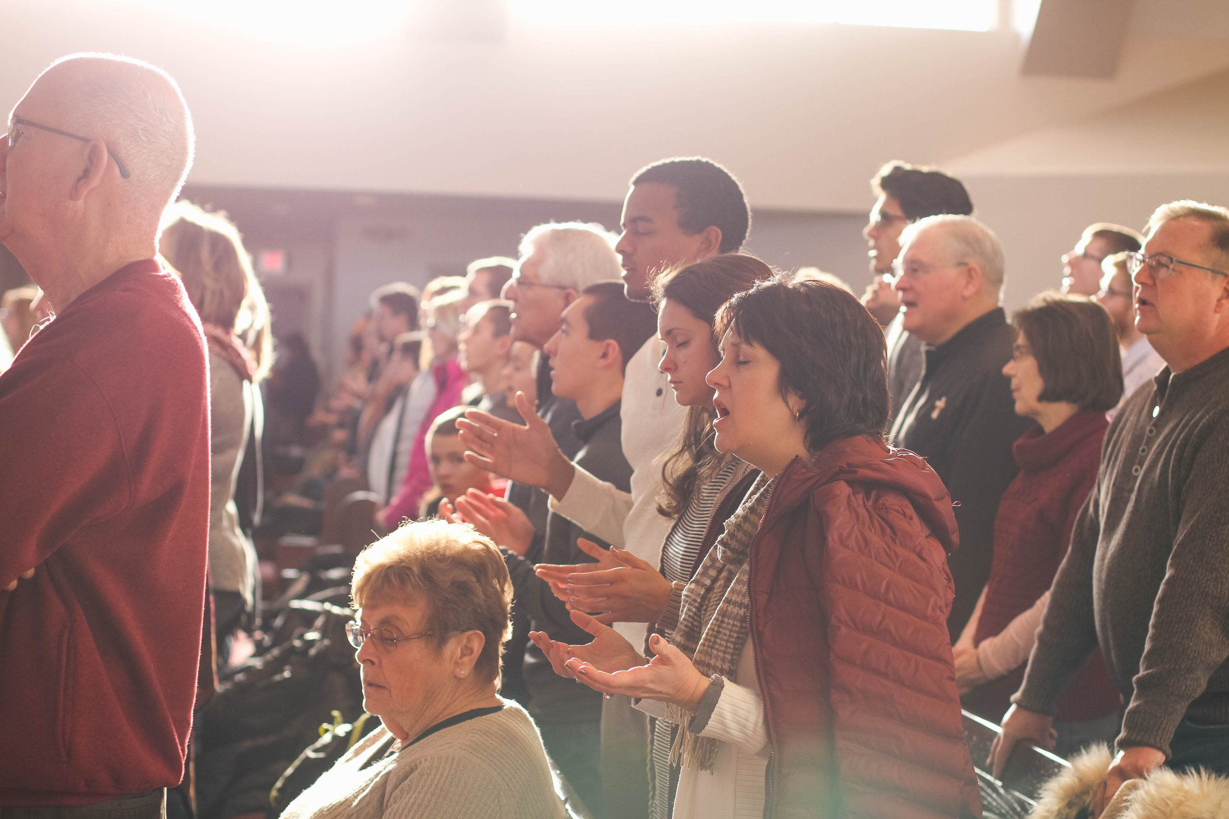 Congregation at Worship