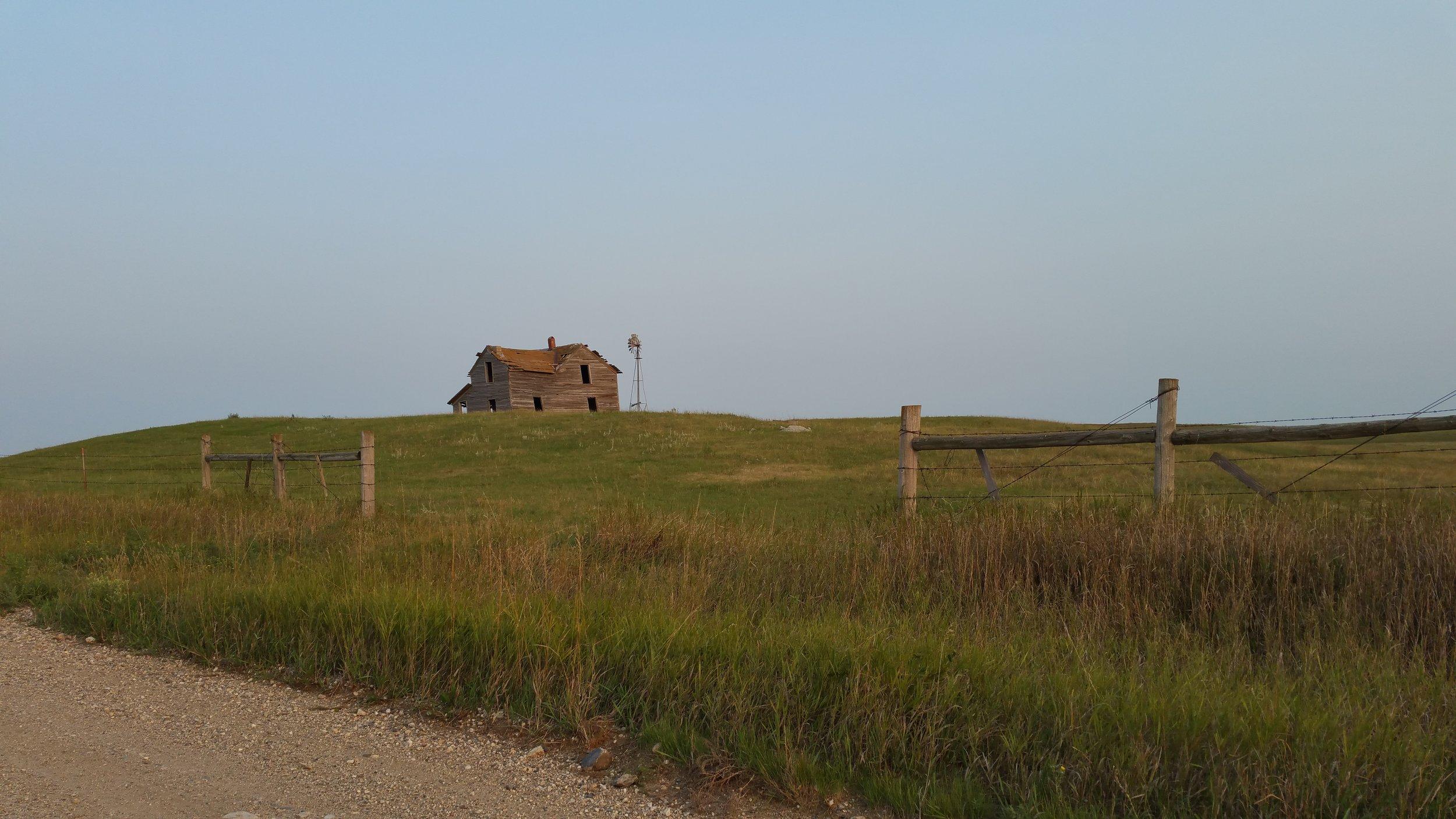 prairie scene