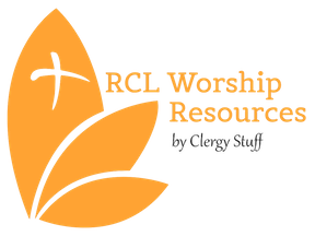 RCL Worship Resources Logo Orange